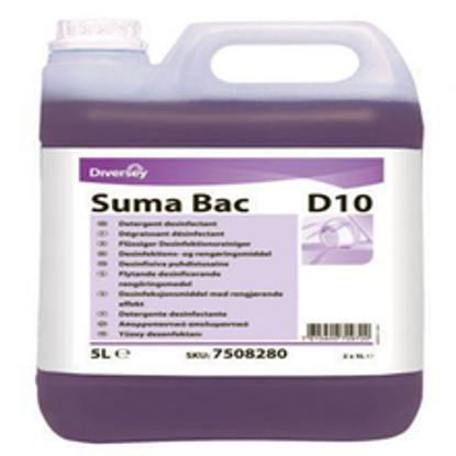 სურათი ზედაპირების სარეცხი-სადეზინფექციო საშუალება Suma Bac D10 5ლ.