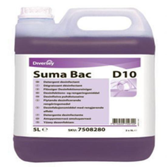 Picture of ზედაპირების სარეცხი-სადეზინფექციო საშუალება Suma Bac D10 5ლ.