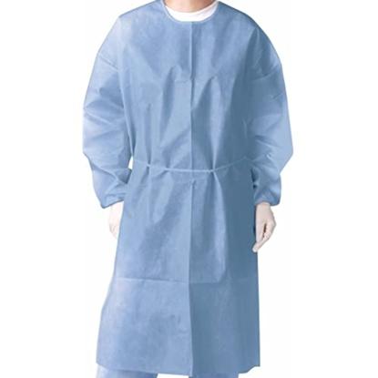 სურათი სამედიცინო ხალათი ორ ფენიანი(წყალგაუმტარი)