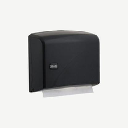 სურათი Z Folded Paper Towel Dispenser Black დაკეცილი ხელსახოცის დისპენსერი შავი