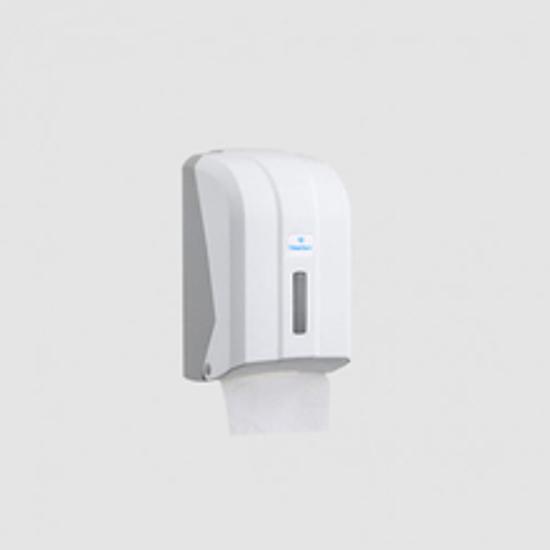 Picture of C FOLDED WC TISSUE DISPENSER (თეთრი) დაკეცილი ტუალეტის ქაღალდის დისპენსერი